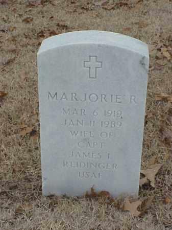 REIDINGER, MAJORIE R - Pulaski County, Arkansas | MAJORIE R REIDINGER - Arkansas Gravestone Photos