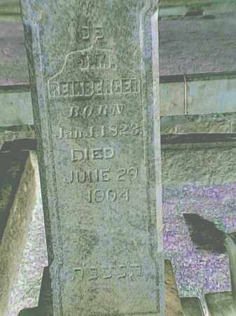 REINBERGER, J M - Pulaski County, Arkansas | J M REINBERGER - Arkansas Gravestone Photos