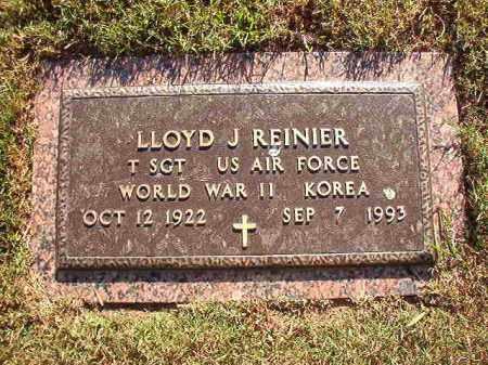 REINIER (VETERAN WWII; KOR), LLOYD J - Pulaski County, Arkansas | LLOYD J REINIER (VETERAN WWII; KOR) - Arkansas Gravestone Photos