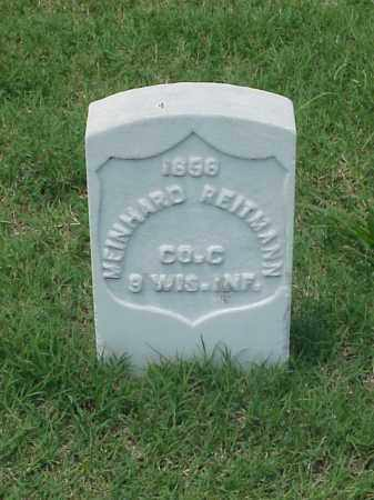 REITEMANN (VETERAN UNION), MEINHARD - Pulaski County, Arkansas | MEINHARD REITEMANN (VETERAN UNION) - Arkansas Gravestone Photos