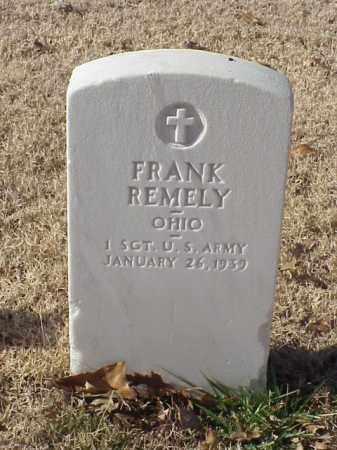 REMELY (VETERAN WWI), FRANK - Pulaski County, Arkansas   FRANK REMELY (VETERAN WWI) - Arkansas Gravestone Photos