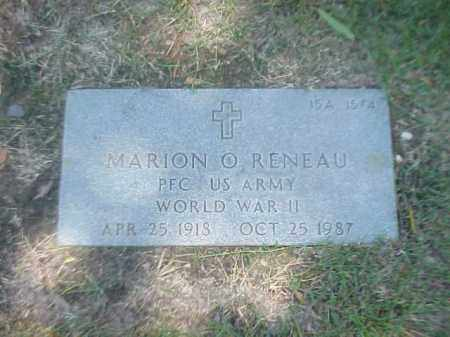RENEAU (VETERAN WWII), MARION O - Pulaski County, Arkansas | MARION O RENEAU (VETERAN WWII) - Arkansas Gravestone Photos