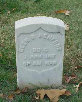 RENFROE (VETERAN SAW), OLAN R - Pulaski County, Arkansas | OLAN R RENFROE (VETERAN SAW) - Arkansas Gravestone Photos