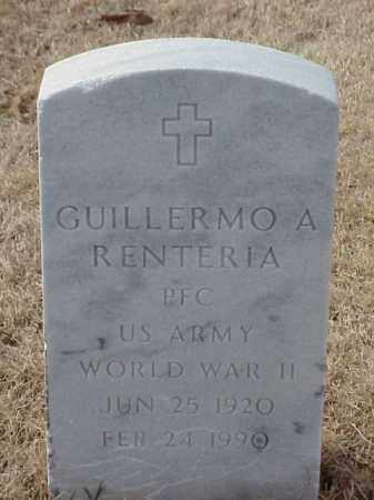 RENTERIA (VETERAN WWII), GUILLERMO A - Pulaski County, Arkansas | GUILLERMO A RENTERIA (VETERAN WWII) - Arkansas Gravestone Photos