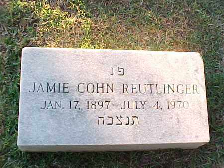 REUTLINGER, JAMIE - Pulaski County, Arkansas | JAMIE REUTLINGER - Arkansas Gravestone Photos