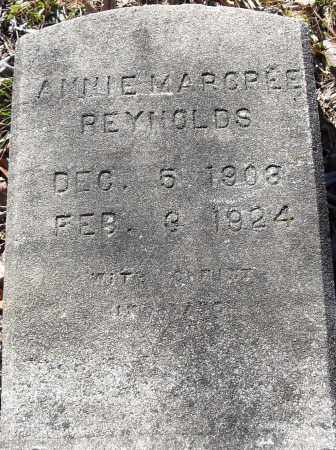 REYNOLDS, ANNIE MARCREE - Pulaski County, Arkansas | ANNIE MARCREE REYNOLDS - Arkansas Gravestone Photos