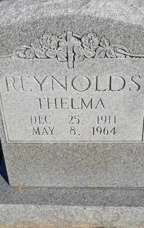 REYNOLDS, THELMA - Pulaski County, Arkansas | THELMA REYNOLDS - Arkansas Gravestone Photos