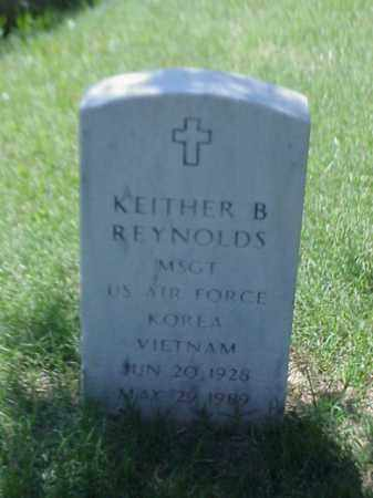 REYNOLDS (VETERAN 2 WARS), KEITHER B - Pulaski County, Arkansas | KEITHER B REYNOLDS (VETERAN 2 WARS) - Arkansas Gravestone Photos