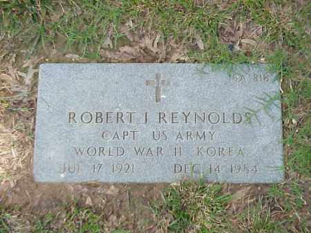 REYNOLDS (VETERAN 2 WARS), ROBERT J - Pulaski County, Arkansas | ROBERT J REYNOLDS (VETERAN 2 WARS) - Arkansas Gravestone Photos