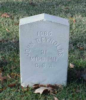 REYNOLDS (VETERAN CSA), JOHN - Pulaski County, Arkansas | JOHN REYNOLDS (VETERAN CSA) - Arkansas Gravestone Photos