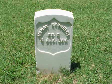 REYNOLDS (VETERAN UNION), HENRY - Pulaski County, Arkansas | HENRY REYNOLDS (VETERAN UNION) - Arkansas Gravestone Photos