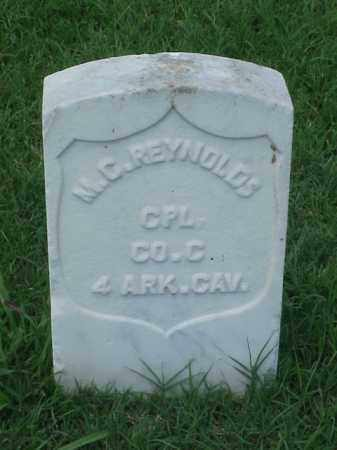 REYNOLDS (VETERAN UNION), M C - Pulaski County, Arkansas | M C REYNOLDS (VETERAN UNION) - Arkansas Gravestone Photos
