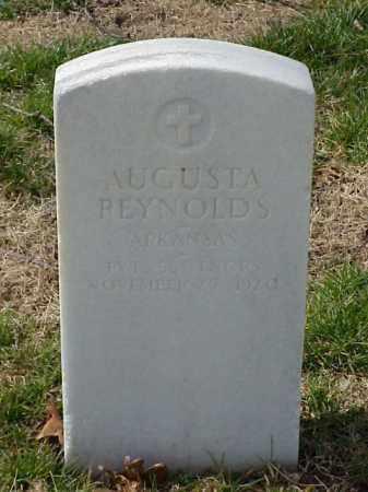 REYNOLDS (VETERAN WWI), AUGUSTA - Pulaski County, Arkansas | AUGUSTA REYNOLDS (VETERAN WWI) - Arkansas Gravestone Photos