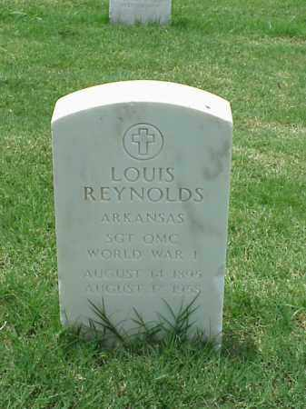 REYNOLDS (VETERAN WWI), LOUIS - Pulaski County, Arkansas | LOUIS REYNOLDS (VETERAN WWI) - Arkansas Gravestone Photos