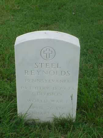 REYNOLDS (VETERAN WWI), STEEL - Pulaski County, Arkansas | STEEL REYNOLDS (VETERAN WWI) - Arkansas Gravestone Photos