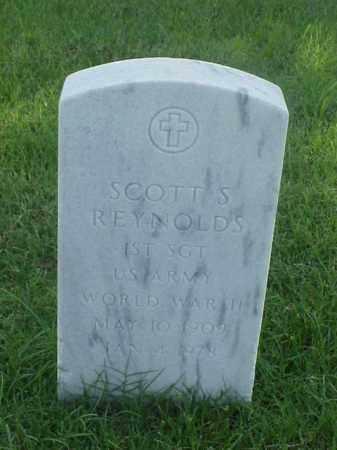 REYNOLDS (VETERAN WWII), SCOTT S - Pulaski County, Arkansas | SCOTT S REYNOLDS (VETERAN WWII) - Arkansas Gravestone Photos