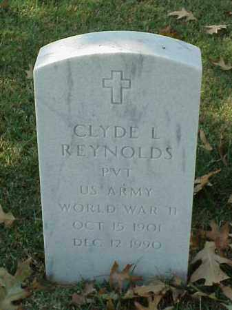REYNOLDS (VETERAN WWII), CLYDE L - Pulaski County, Arkansas | CLYDE L REYNOLDS (VETERAN WWII) - Arkansas Gravestone Photos