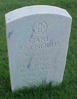 REYNOLDS (VETERAN WWII), CARL - Pulaski County, Arkansas | CARL REYNOLDS (VETERAN WWII) - Arkansas Gravestone Photos
