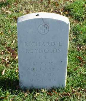 REYNOLDS (VETERAN WWII), RICHARD L - Pulaski County, Arkansas | RICHARD L REYNOLDS (VETERAN WWII) - Arkansas Gravestone Photos