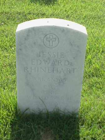 RHINEHART (VETERAN 2 WARS), JESSIE EDWARD - Pulaski County, Arkansas | JESSIE EDWARD RHINEHART (VETERAN 2 WARS) - Arkansas Gravestone Photos