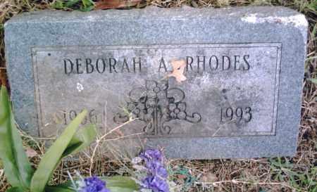 RHODES, DEBORAH A. - Pulaski County, Arkansas | DEBORAH A. RHODES - Arkansas Gravestone Photos