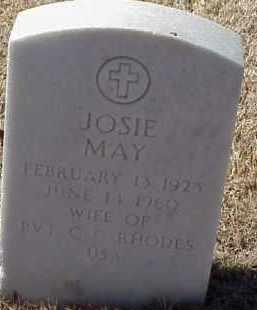 RHODES, JOSIE MAY - Pulaski County, Arkansas | JOSIE MAY RHODES - Arkansas Gravestone Photos