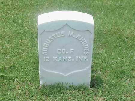 RHODES (VETERAN UNION), AUGUSTUS M - Pulaski County, Arkansas | AUGUSTUS M RHODES (VETERAN UNION) - Arkansas Gravestone Photos