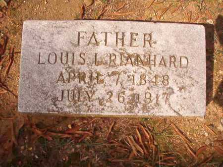 RIANHARD, LOUIS L - Pulaski County, Arkansas | LOUIS L RIANHARD - Arkansas Gravestone Photos