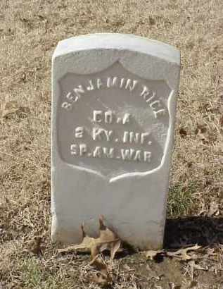 RICE (VETERAN SAW), BENJAMIN - Pulaski County, Arkansas | BENJAMIN RICE (VETERAN SAW) - Arkansas Gravestone Photos
