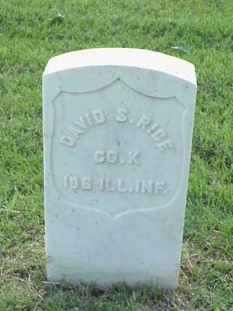 RICE (VETERAN UNION), DAVID S - Pulaski County, Arkansas | DAVID S RICE (VETERAN UNION) - Arkansas Gravestone Photos