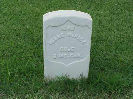 RICE (VETERAN UNION), ISAAC N - Pulaski County, Arkansas | ISAAC N RICE (VETERAN UNION) - Arkansas Gravestone Photos