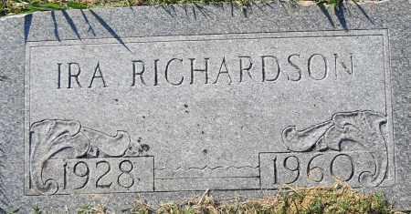 RICHARDSON, IRA - Pulaski County, Arkansas | IRA RICHARDSON - Arkansas Gravestone Photos