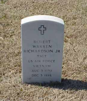 RICHARDSON, JR (VETERAN VIET), ROBERT WARREN - Pulaski County, Arkansas | ROBERT WARREN RICHARDSON, JR (VETERAN VIET) - Arkansas Gravestone Photos