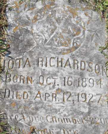 RICHARDSON, LOTA - Pulaski County, Arkansas   LOTA RICHARDSON - Arkansas Gravestone Photos