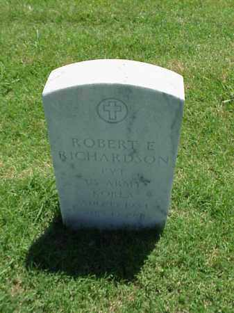 RICHARDSON (VETERAN KOR), ROBERT E - Pulaski County, Arkansas | ROBERT E RICHARDSON (VETERAN KOR) - Arkansas Gravestone Photos