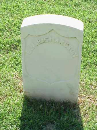 RICHARDSON (VETERAN UNION), E M - Pulaski County, Arkansas | E M RICHARDSON (VETERAN UNION) - Arkansas Gravestone Photos