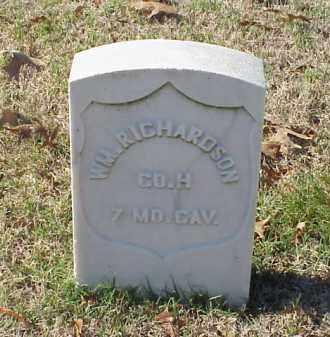 RICHARDSON (VETERAN UNION), WILLIAM - Pulaski County, Arkansas | WILLIAM RICHARDSON (VETERAN UNION) - Arkansas Gravestone Photos