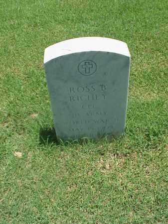 RICHEY (VETERAN WWII), ROSS B - Pulaski County, Arkansas | ROSS B RICHEY (VETERAN WWII) - Arkansas Gravestone Photos
