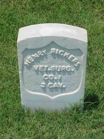 RICKERS (VETERAN UNION), HENRY - Pulaski County, Arkansas | HENRY RICKERS (VETERAN UNION) - Arkansas Gravestone Photos