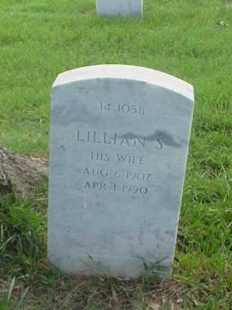 RICKETSON, LILLIAN S - Pulaski County, Arkansas | LILLIAN S RICKETSON - Arkansas Gravestone Photos
