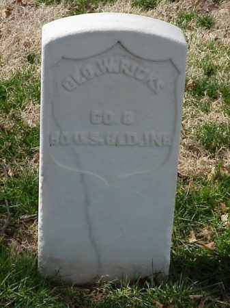 RICKS (VETERAN UNION), GEORGE W - Pulaski County, Arkansas | GEORGE W RICKS (VETERAN UNION) - Arkansas Gravestone Photos
