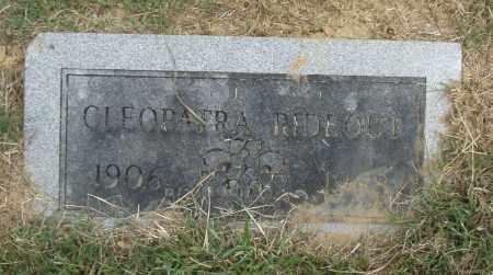 RIDEOUT, CLEOPATRA - Pulaski County, Arkansas | CLEOPATRA RIDEOUT - Arkansas Gravestone Photos