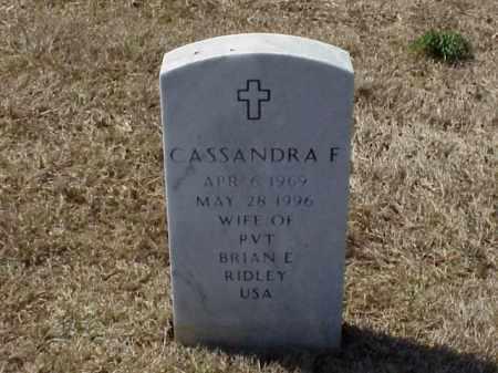 RIDLEY, CASSANDRA FAYE - Pulaski County, Arkansas | CASSANDRA FAYE RIDLEY - Arkansas Gravestone Photos