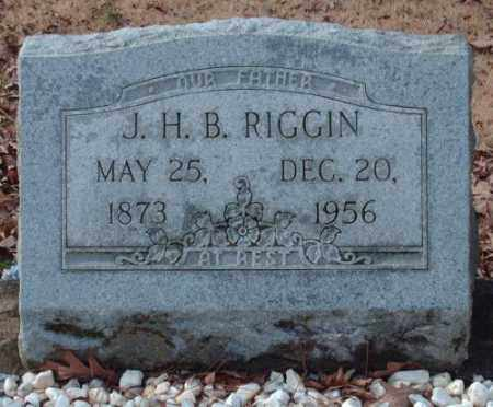 RIGGIN, J.H.B. - Pulaski County, Arkansas | J.H.B. RIGGIN - Arkansas Gravestone Photos