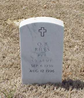 RILES (VETERAN), O B - Pulaski County, Arkansas | O B RILES (VETERAN) - Arkansas Gravestone Photos
