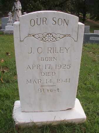 RILEY, J C - Pulaski County, Arkansas | J C RILEY - Arkansas Gravestone Photos