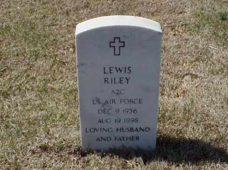 RILEY (VETERAN), LEWIS - Pulaski County, Arkansas | LEWIS RILEY (VETERAN) - Arkansas Gravestone Photos