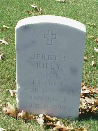 RILEY (VETERAN WWII), JERRY L - Pulaski County, Arkansas | JERRY L RILEY (VETERAN WWII) - Arkansas Gravestone Photos