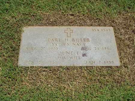 RILLER, JUNE E - Pulaski County, Arkansas | JUNE E RILLER - Arkansas Gravestone Photos