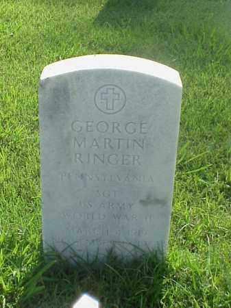 RINGER (VETERAN WWII), GEORGE MARTIN - Pulaski County, Arkansas | GEORGE MARTIN RINGER (VETERAN WWII) - Arkansas Gravestone Photos